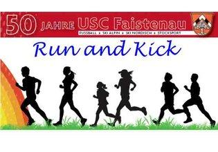 Run and Kick klein